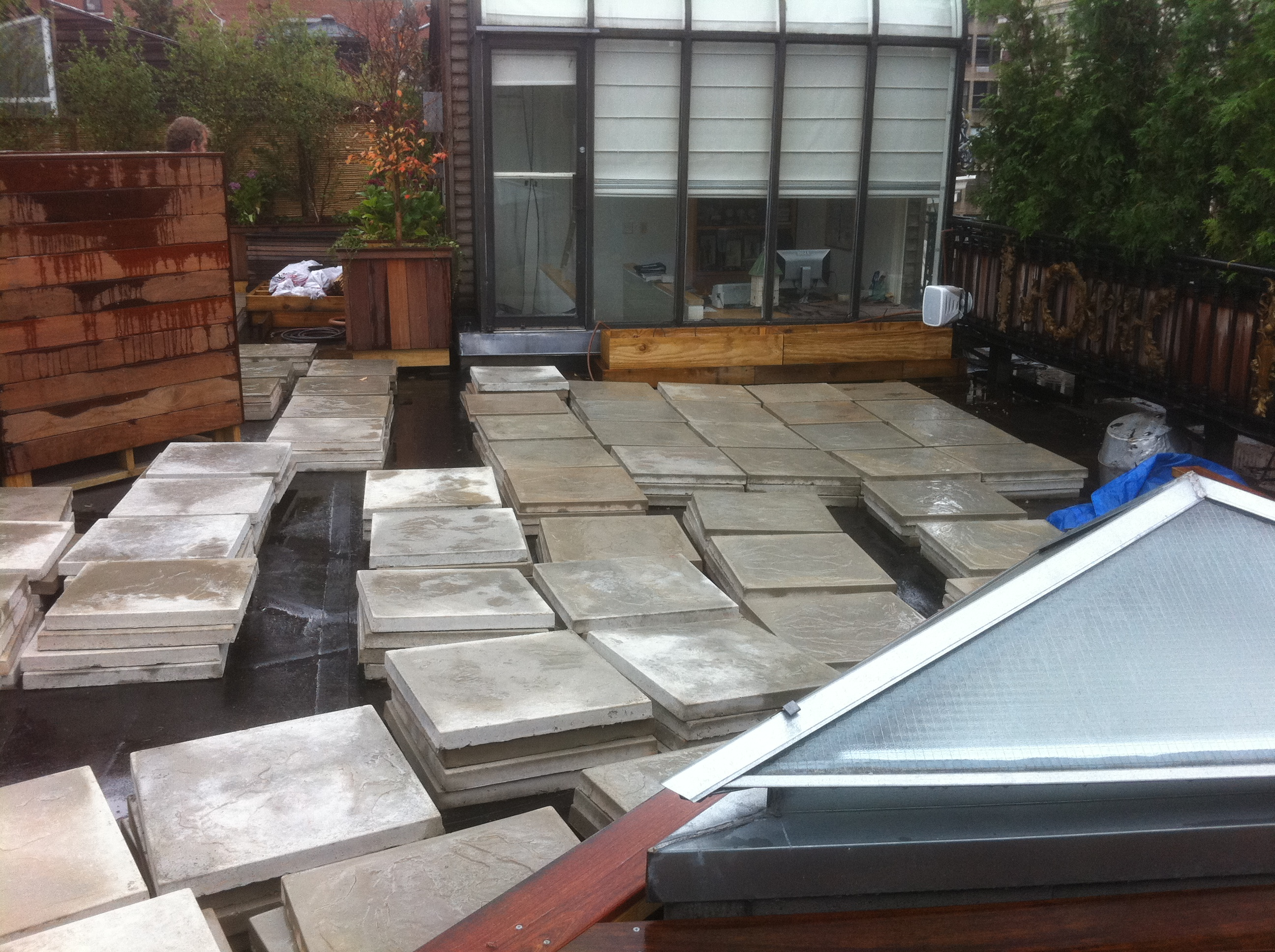 187 Roofdecks By Material Ceramics Stone And Composites